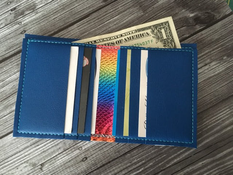 DIGITAL DOWNLOAD 5x7 ITH Bifold Wallet With Bill Sleeve and 6 Card Slots