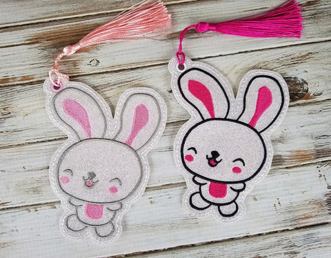 DIGITAL DOWNLOAD  4x4 AND 5x7 Easter Bunny Bookmark