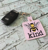 4x4 DIGITAL DOWNLOAD Bee Kind Snap Tab