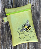 DIGITAL DOWNLOAD ITH 5x7 Honey Bee Bag Lined and Unlined Includes Charm