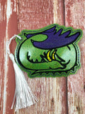 4x4 DIGITAL DOWNLOAD Sleeping Dragon Bookmark