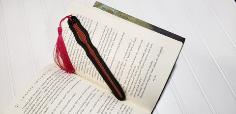 4x4 and 5x7 DIGITAL DOWNLOAD Luna's Wand Bookmark