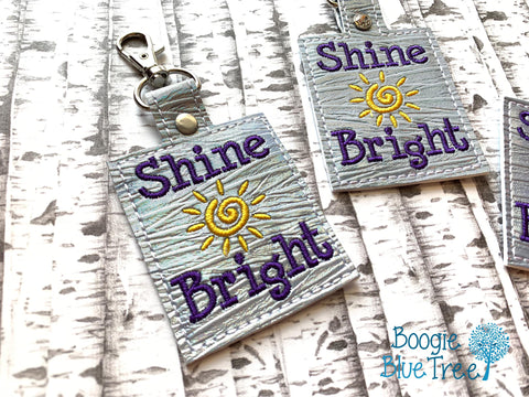 4x4 DIGITAL DOWNLOAD Shine Bright Snap Tab