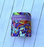 DIGITAL DOWNLOAD 4x4 5x7 ITH Zippered Cuff Bag Lined and Unlined
