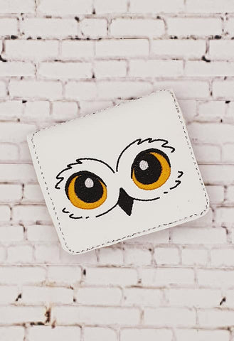 DIGITAL DOWNLOAD 5x7 ITH Owl 4 Card Wallet Bifold