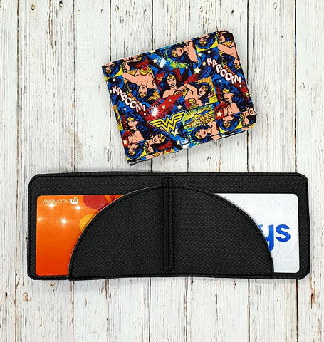 DIGITAL DOWNLOAD Unisex Bifold Wallet 3x8 or larger hoop required