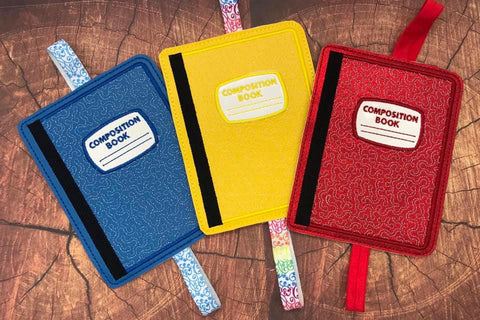 5x7 DIGITAL DOWNLOAD Composition Book Planner Band