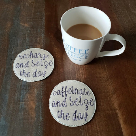 DIGITAL DOWNLOAD 4x4 Seize The Day 2 Pc Coaster Set