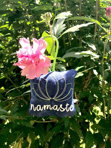 DIGITAL DOWNLOAD 4x4 ITH Namaste Sachet Plushie