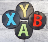 DIGITAL DOWNLOAD 4x4 X Gamer Coaster Set