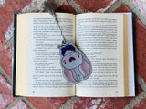 4x4 DIGITAL DOWNLOAD Halloween Bat Bookmark