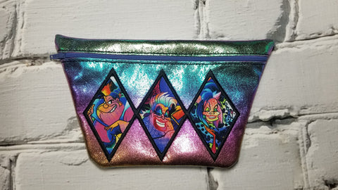 DIGITAL DOWNLOAD Harlequin Clutch Bag Set 4 Sizes Included