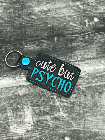 4x4 DIGITAL DOWNLOAD Cute But Psycho Snap Tab