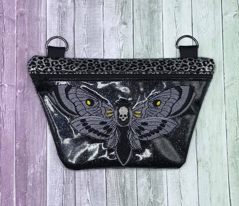 DIGITAL DOWNLOAD Death Moth Clutch Bag Set 4 Sizes Included