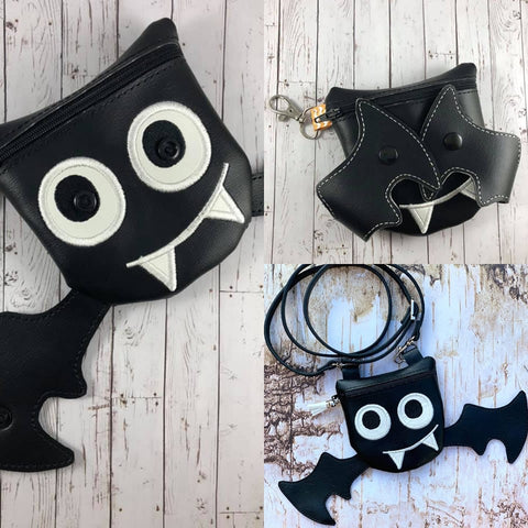 DIGITAL DOWNLOAD 3D Peek-A-Boo Batty the Vampire Bat Bag OWTT