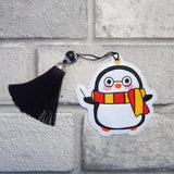 4x4 DIGITAL DOWNLOAD Penguin Ornament Bookmark 2 Versions