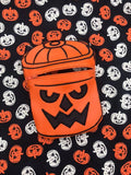 DIGITAL DOWNLOAD 7x10 Applique Boo Bucket Zipper Bag Set 3 Designs