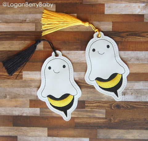 4x4 DIGITAL DOWNLOAD Boo Bee Bookmark