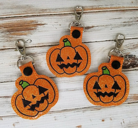 4x4 DIGITAL DOWNLOAD Kawaii Jack O Lantern Snap Tab