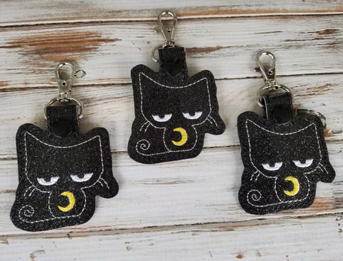 4x4 DIGITAL DOWNLOAD 2019 Black Kitty Snap Tab Includes Satin and Bean versions
