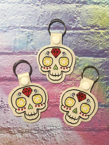 4x4 DIGITAL DOWNLOAD 2019 Sugar Skull Snap Tab