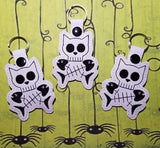 4x4 DIGITAL DOWNLOAD Skelly Kitty Snap Tab