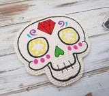 DIGITAL DOWNLOAD 4x4 Sugar Skull Coaster
