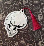 4x4 DIGITAL DOWNLOAD Anatomical Skull Hanger Bookmark Ornament