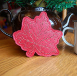 4x4 DIGITAL DOWNLOAD Maple Leaf Coaster