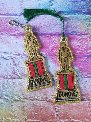 4x4 DIGITAL DOWNLOAD Dundie The Office Bookmark Ornament