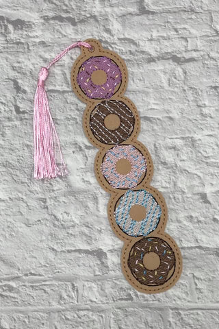 5x7 DIGITAL DOWNLOAD Donut Stack Sketchy Bookmark Ornament