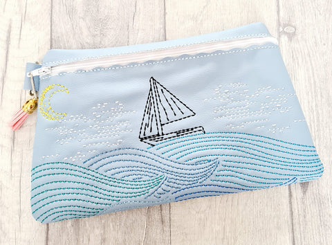 DIGITAL DOWNLOAD Smooth Sailing Clutch Lined and Unlined Options