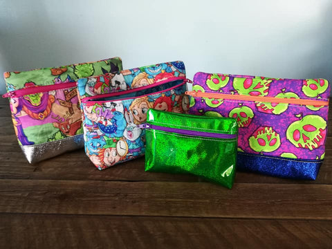 DIGITAL DOWNLOAD ITH Load Em' Up Zipper Bag Lined and Unlined Options 4 SIZES