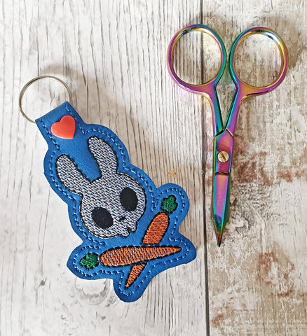 DIGITAL DOWNLOAD Skully Bunny Bunno Snap Tab