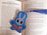 4x4 DIGITAL DOWNLOAD Sketchy Skelly Bunno Bookmark