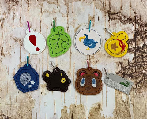 DIGITAL DOWNLOAD Animal Gamer Charm Set