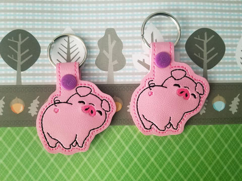 DIGITAL DOWNLOAD Piggy Bum Snap Tab