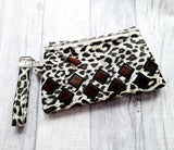 DIGITAL DOWNLOAD Mosaic Clutch Applique Zipper Bag Lined and Unlined