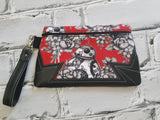 DIGITAL DOWNLOAD Julie Clutch Applique Zippered Bag Lined and Unlined