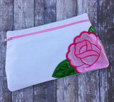 DIGITAL DOWNLOAD Jozel Clutch Applique Zippered Bag Lined and Unlined