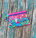 DIGITAL DOWNLOAD Origami Clutch Applique Zippered Bag Lined and Unlined