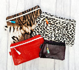DIGITAL DOWNLOAD BLANK Clutch Zipper Bag Set Lined and Unlined