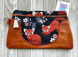 DIGITAL DOWNLOAD Jamie Clutch Applique Zippered Bag Lined and Unlined
