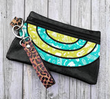DIGITAL DOWNLOAD Kellie Clutch Applique Zippered Bag Lined and Unlined