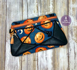 DIGITAL DOWNLOAD Shanna Clutch Applique Zipper Bag Lined and Unlined