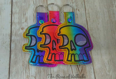 DIGITAL DOWNLOAD Fragmented Skull Snap Tab