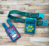 DIGITAL DOWNLOAD Forever Freebie Pet Tag Silencer 2 Sizes, 2 Versions Included
