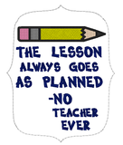 5x7 DIGITAL DOWNLOAD Lesson Plan Teacher Planner Band