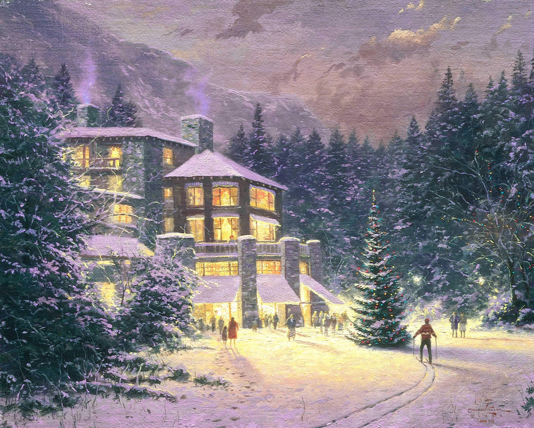 Christmas At The Ahwahnee