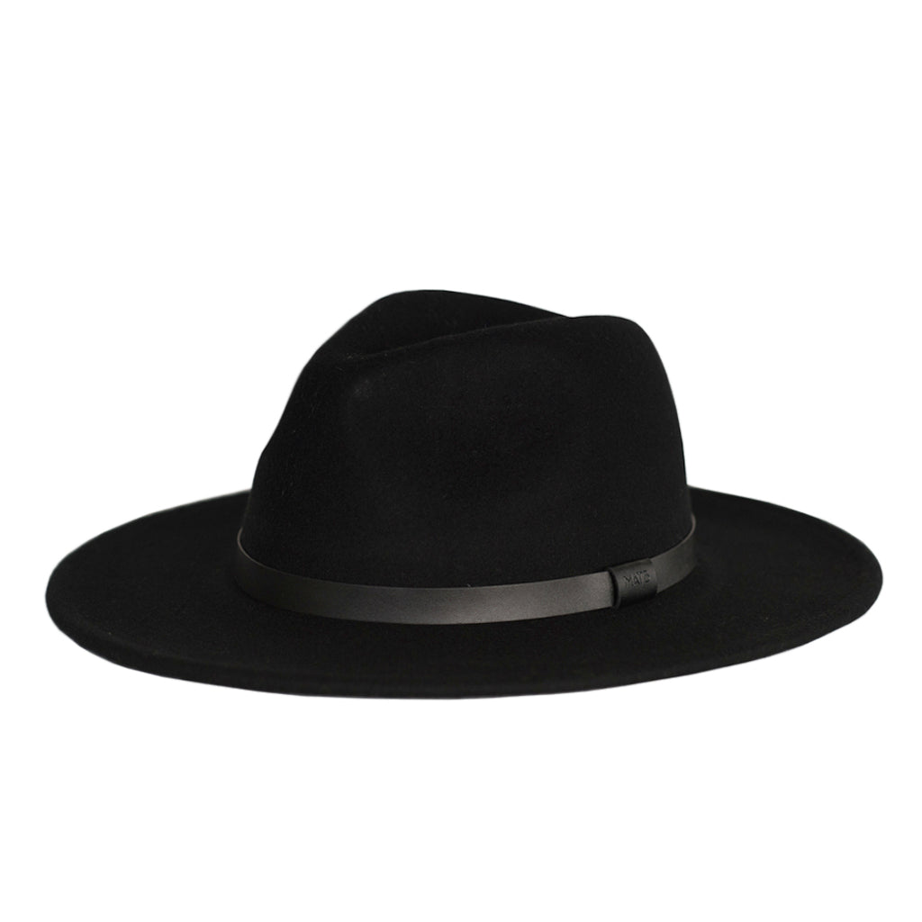 Me and the brave Black wide brim fedora available in 4 adult sizes